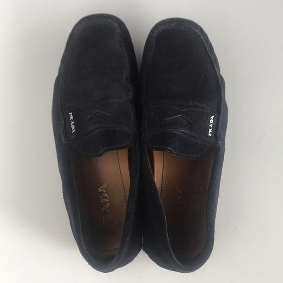 7289f555268 Men s prada driving loafers. M 5a9edfa99cc7efc14aacc7ae